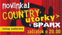 Country utorky v Sparxe